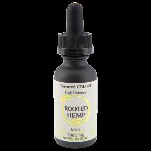 High Potency Flavored Mint CBD Oil