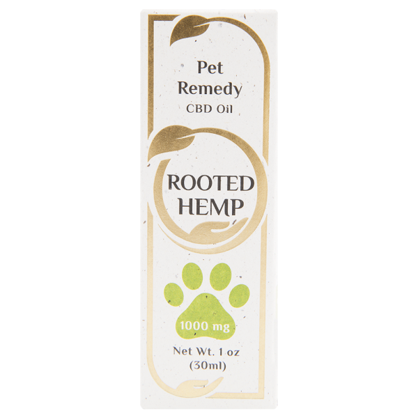 Pet remedy CBD Oil 1000mg