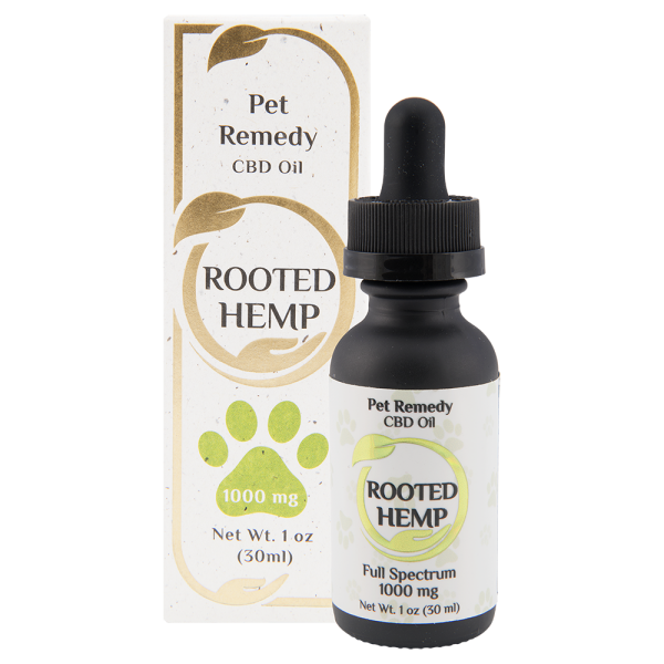 Rooted Hemp Pet Remedy CBD Oil