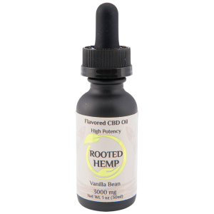Flavored Clear Solution CBD Oil – Vanilla – 3000mg