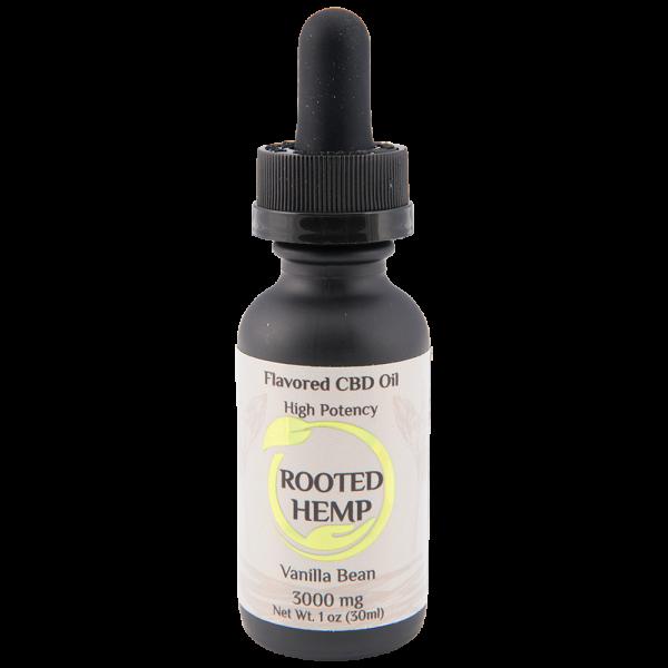 Flavored Clear Solution CBD Oil Vanilla
